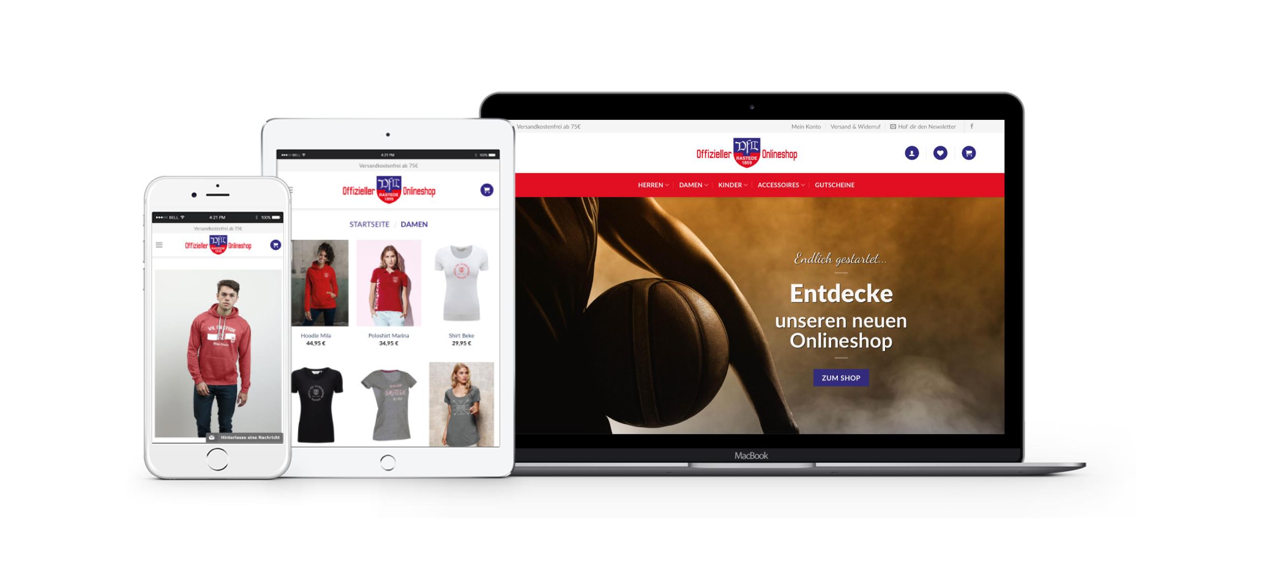 Fan12 wurde 2018 in Oldenburg mit dem Ziel gegründet, individuelle, kostenlose OnlineShops für Amateurvereine zu erstellen. Damit leistet das junge Unternehmen einen wichtigen Beitrag zur Stärkung der Identifikation von Vereinsmitgliedern mit ihrem Sportverein.