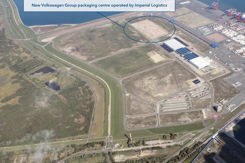 Neue Verpackungszentrum des Volkswagen Konzerns