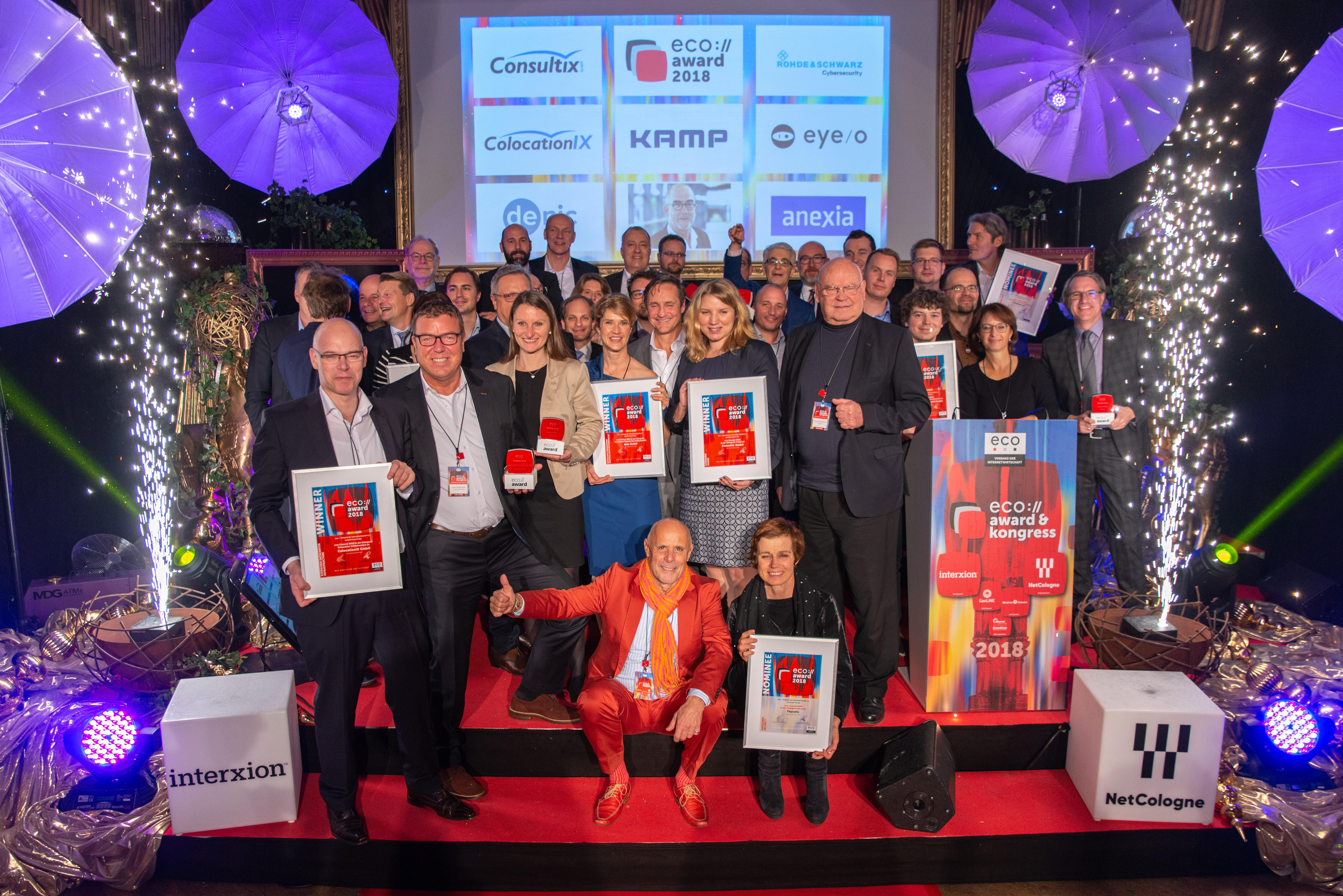 Nominierte, Gewinner und Laudatoren des Eco Awards_Foto eco e.V