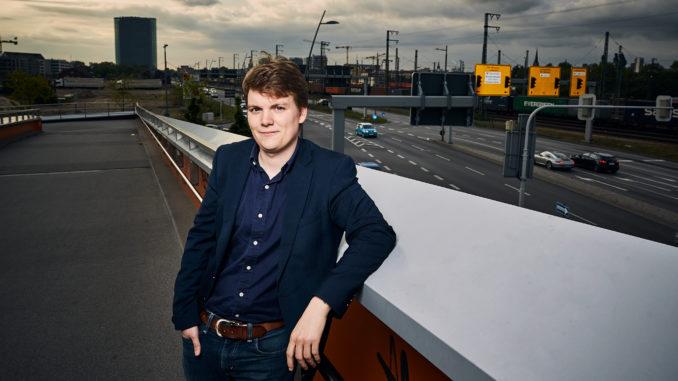 Andreas Widmann, Gründer des Startups RoadAds - Quelle: Ricardo Wiesinger