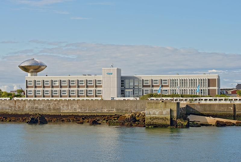Die Aufzuchtanlage für die heimische Austernart wird am AWI-Standort auf Helgoland entstehen. (Foto: AWI/Uwe Nettelmann)