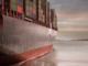 """Beispielbild: In der Nacht des zweiten Januar 2019 havarierte ein Teil der Ladung der """"MSC Zoe"""". Von den etwa 270 Containern gilt ein Großteil nach wie vor als vermisst. Stürmisches Wetter verzögert die Suche und Bergung weiterer Container, die Staatsanwaltschaft ermittelt. Verlässliche Zahlen dazu, wie viele Container pro Jahr auf den Weltmeeren verloren gehen, gibt es leider nicht. Die Angaben verschiedener Organisationen, wie des WSC oder der IMO gehen auseinander. Geht man von einem Durchschnittswert aus, sind es bis zu 1.600 Container weltweit."""