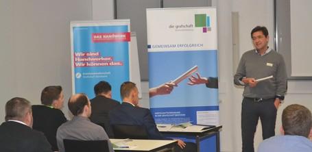 Peter Beckmann von der Handwerkskammer ermunterte die Unternehmer, bei ihren Zukunftsprozessen die umfangreichen Beratungs- und Fördermöglichkeiten in der Region zu nutzen.