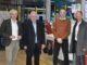 Betriebsbesichtigung bei Heytex (von links): Geschäftsführer Hans-Dieter Kohake, Landkreis-Wirtschaftsförderer Siegfried Averhage, Werksleiter Hanno Wilkens und Landrat Dr. Michael Lübbersmann.Foto: WIGOS / Kimberly Lübbersmann