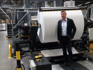 Klaus Sauer, Geschäftsführer von Saxoprint. Bildquelle Heidelberg-Druckmaschinen