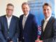 Diskutierten beim IHK-Mittagsgespräch über Herausforderungen für die EU: Jens Gieseke (Mitte), Kandidat der CDU für das Europaparlament, mit IHK-Vizepräsident Heinrich Koch (links) und IHK-Hauptgeschäftsführer Marco Graf (rechts).