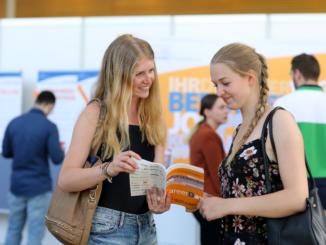 Beim Career Day haben Studierende die Möglichkeit, sich rund um das Thema Berufseinstieg zu informieren. Foto: Universität Oldenburg