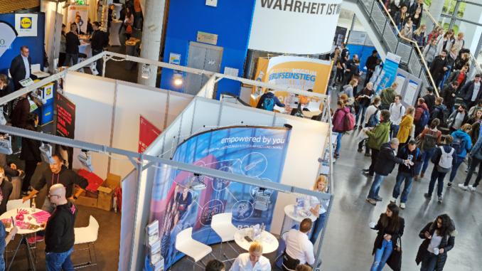 Nun schon zum zehnten Mal fand gestern der Career Day der Universität Oldenburg statt.