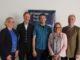 Bildunterschrift (v.r.): Friedhelm Freiherr von Landsberg-Velen, Anke Schweda, Tom Kuipers, Wolfgang Hackmann und Katja Lampe.