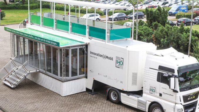 Das Innovation(s)Mobil der Innovativen Hochschule Jade-Oldenburg! Foto: Piet Meyer / Jade Hochschule