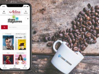 Die jungen Unternehmen CODE2ORDER und sharemagazines arbeiten ab sofort zusammen, um gemeinsam das Hotelerlebnis für den Gast zu digitalisieren. Durch die Kooperation wird der digitale Lesezirkel von sharemagazines in den digitalen Begleiter für Hotelgäste von CODE2ORDER integriert.