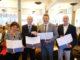 Unterzeichneten heute in Groningen den neuen Kooperationsvertrag (v.l.): Prof. Marian Joëls (UMCG), Prof. Dr. Dr. Hans Michael Piper (Universität Oldenburg), Prof. Jouke de Vries (Universität Groningen) und Prof. Dr. Hans Gerd Nothwang (Universität Oldenburg). Foto: Universität Oldenburg.