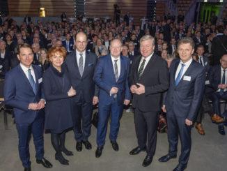 """Goebel: """"2019 erfolgreiches Jahr, aber Dynamik gerät ins Stocken"""" Neujahrsempfang der IHK in Lingen"""