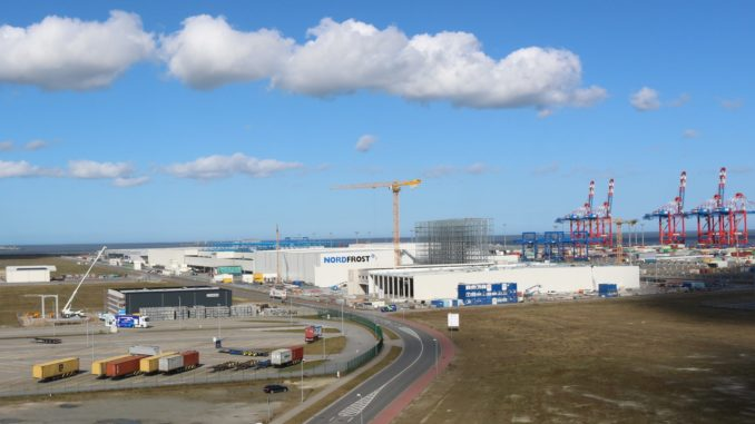 GVZ JadeWeserPort Wilhelmshaven erstmals in den TOP 20