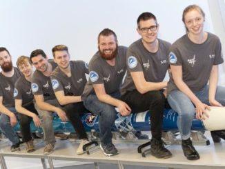"""20. März: Studentisches Team der Hochschule Bremen startet Höhenforschungsrakete """"AQUASONIC II"""" im schwedischen Raumfahrtzentrum ESRANGE"""