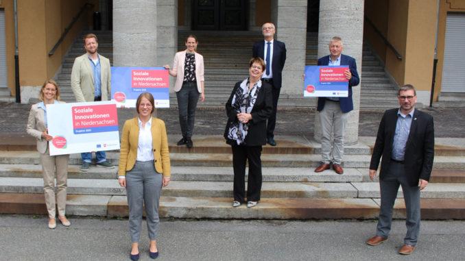 Soziale Innovation: Regionalministerin Birgit Honé überreicht in Oldenburg Förderbescheide in Höhe von insgesamt über 1,5 Millionen Euro