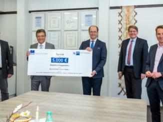 Beitrag zur Digitalisierung: VWA spendet an Berufsbildende Schulen in Meppen