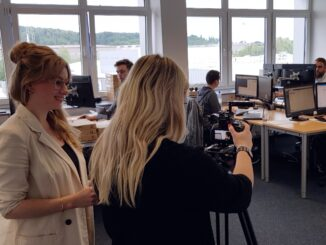 Videodreh bei LückerService: Azubigewinnung über Social Media