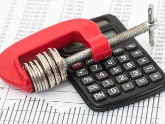 Kommunale Verschuldung 2019 um 0,5% gesunken