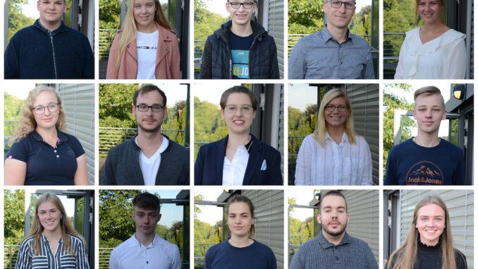 16 neue Auszubildende für die Kreisverwaltung