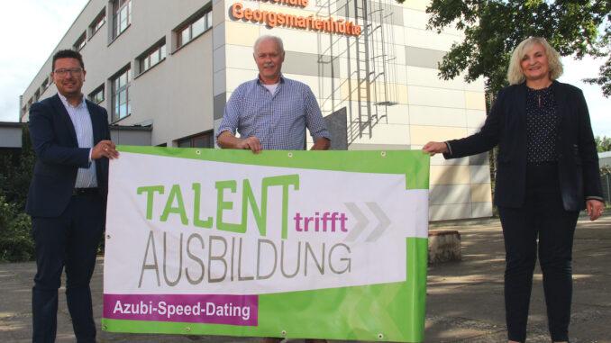 lm Speed-Dating zum Ausbildungsplatz