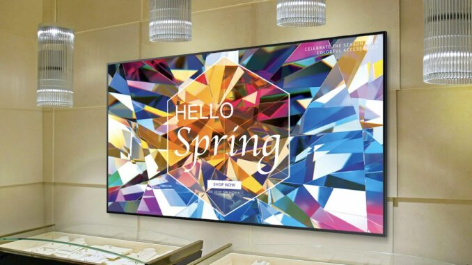 Digital Signage am Point of Sale