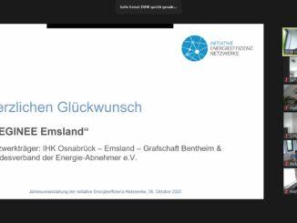 Auszeichnung für IHK-Energieeffizienznetzwerk
