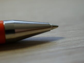 Der Kugelschreiber ist nicht wegzudenken