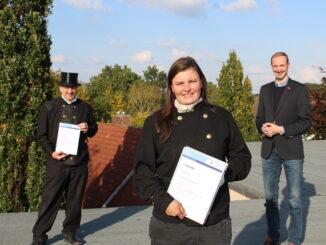 Mareike Körte ist Lehrling des Monats Oktober der Handwerkskammer für Ostfriesland.