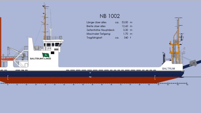 Meilenstein beim Neubauprojekt der Reederei Baltrum Linie GmbH