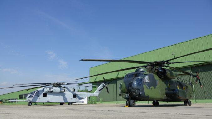 Rheinmetall übernimmt Betreuung und Wartung des Transporthubschraubers CH-53G der Luftwaffe am Standort Diepholz