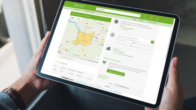 printoo GmbH integriert Postaktuell-Schnittstelle in Online-Druckerei-Shop für schnelle und einfache Haushaltswerbung