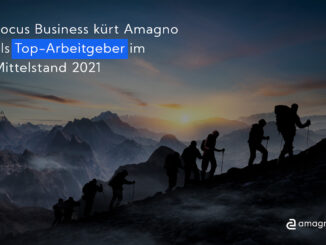 Focus Business: Amagno 2021 erneut als Top-Arbeitgeber ausgezeichnet