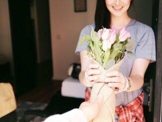 Warum wir Blumen verschenken