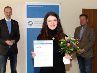 Alma Rexha ist Lehrling des Monats der Handwerkskammer für Ostfriesland.