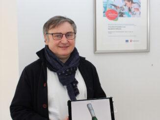 Handwerksmeister Stefan Hering aus Emden entwickelt innovative Produktion von Schlaganfall-Orthesen.