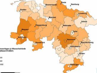 Niedersachsen legt bei Erdwärme deutlich zu - Inzwischen fast 19.000 Anlagen installiert - Hannover ist Spitzenreiter