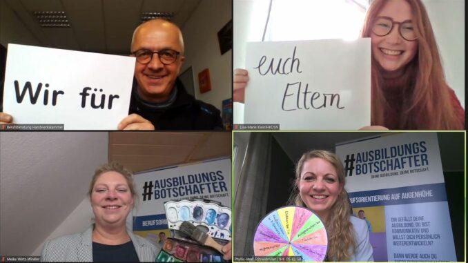 """Kreative Berufsberatung für Schüler und Eltern beim digitalen """"Zukunftstag"""" von IHK und HWK am 22. April 2021"""