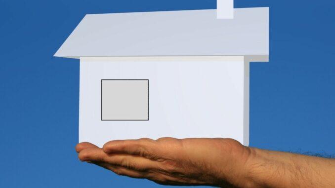 3D-Zeichnung von bestehenden Gebäuden