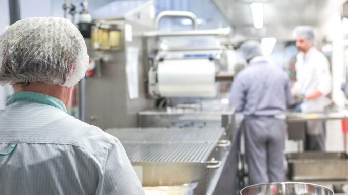 Hubspindelantriebe in der Lebensmittelindustrie