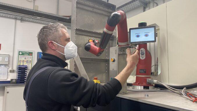 Roboter-Projekt am Start