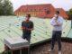 Bienenvolk findet neues Zuhause auf dem Dach der IHK im Zentrum von Osnabrück