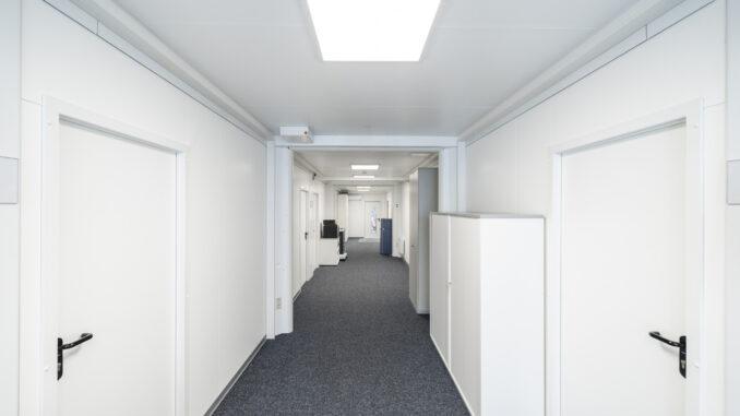 Neue Räumlichkeiten für neue Mitarbeiter