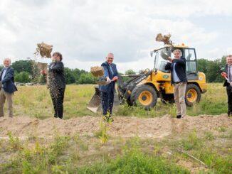 Erster Spatenstich für Neubau des Oldenburger Helmholtz-Instituts