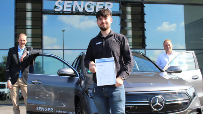 Mirco Bunger aus Holtland ist angehender Automobilkaufmann mit Leidenschaft.