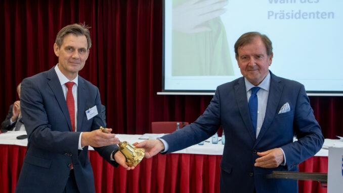 Jan Müller (l.) und Gert Stuke