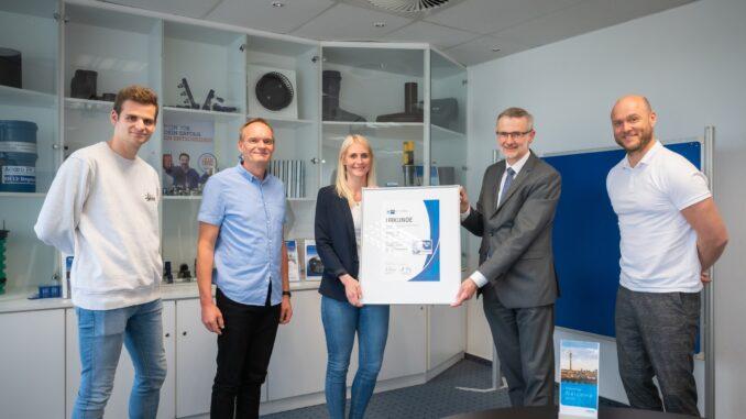 Wavin GmbH in Twist bietet TOP AUSBILDUNG Unternehmen erhält IHK-Qualitätssiegel zum zweiten Mal