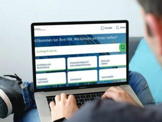 Neues digitales Service-Portal der IHK